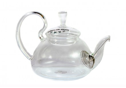 """Чайник из жаропрочного стекла """"Клюковка"""", 250 мл"""