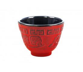 Чугунная чашка (красная), 120 мл