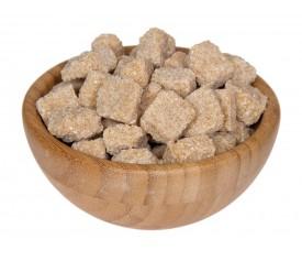 Сахар тростниковый кусковой (коричневый)